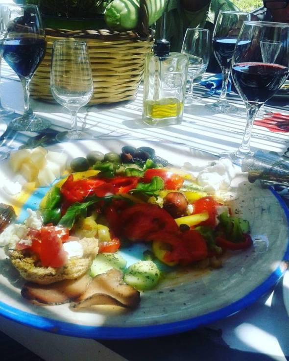 Mykonos Garden salad